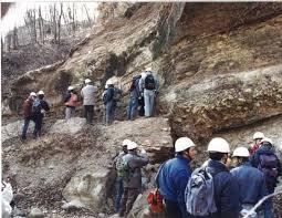 Geologi al lavoro